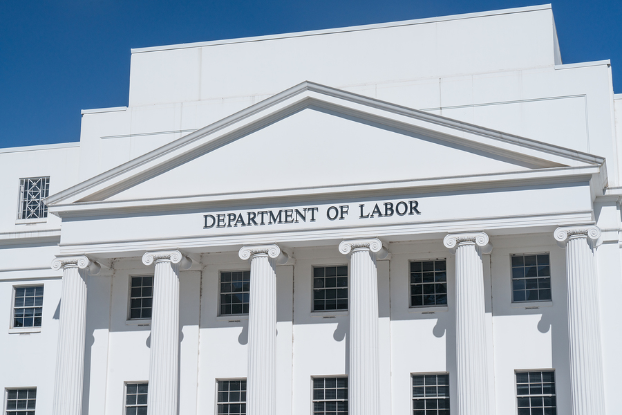 Department of Labor building in Alabama stands in for any labor department