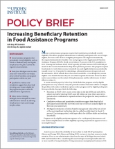 Cover image for  Increasing Beneficiary Retention in Food Assistance Programs