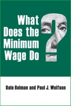 Cover image for  What Does the Minimum Wage Do?