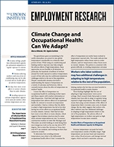 Cover image for  Employment Research, Vol. 26, No. 4, October 2019